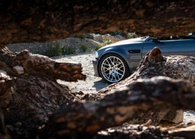 BMW E46 M3 on Beyern Spartan rotary forged wheels - 9