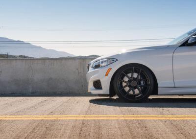 BMW M240i on Beyern Ritz Gloss Black - rotary forged wheels - 10