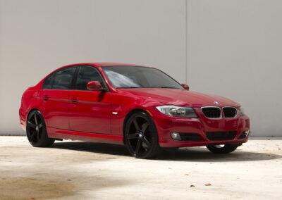 BMW320iRed2009_20inchRUFFR1_SatinBlack (1)