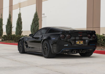 Chevrolet C6 Corvette ZR1 on Cray Astoria rotary forged wheels - 13