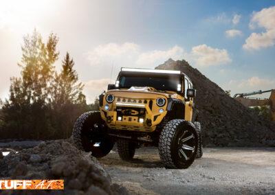 JeepWranglerYellow2014_20inchTUFFT12_SatinBlackMilled-14