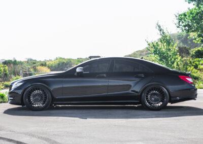 Mandrus 23 on Black Mercedes Benz CLS550-9